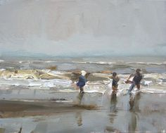 Roos Schuring New paintings- Seascapes and landscapes plein air: A few SEASCAPES of 2013/2012 - [End of this blog!]