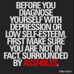 Before you diagnose yourself....