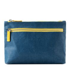 Take a look at this Navy Mercer Cosmetic Bag by Shiraleah on #zulily today! $12.99, regular 35.00