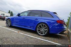 Audi RS 4 Avant in Nogaro Blue