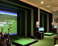 東京都内にあるおしゃれシミュレーションゴルフスポット