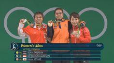 Angkat Besi Sumbang Medali Pertama Indonesia di Olimpiade Rio 2016