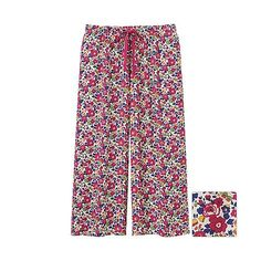 WOMEN LIBERTY LONDON for UNIQLO Relaco 3/4 Wide Shorts?-?UNIQLO?UK?Online?fashion?store