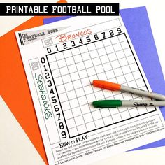 Super Bowl Pools Ideas super bowl squares Football Pool Printable Who Will Win The Big Game