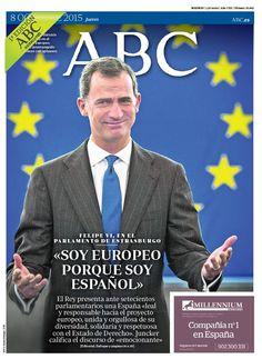 La portada de ABC del jueves 8 de octubre