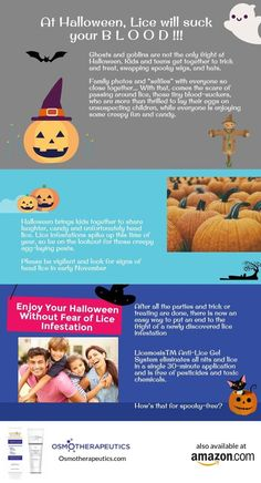 This Halloween Season Be on the Lookout for Creepy Egg-Laying Lice – OsmoTherapeutics, Inc.