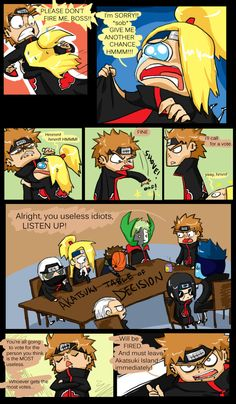 This week on Akatsuki Island 5 by crow213.deviantart.com on @DeviantArt