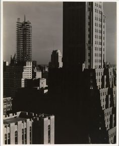 From My Window at the Shelton, North  Alfred Stieglitz (American, Hoboken, New Jersey 1864–1946 New York) 1931 Gelatin silver print 24.2 x 19.2 cm (9 1/2 x 7 9/16 in.)