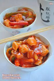 In my coffee kitchen: Kurczak w sosie słodko-kwaśnym II Asian Recipes, Healthy Recipes, Ethnic Recipes, Vegan Junk Food, Clean Eating, Healthy Eating, Good Food, Yummy Food, Food Allergies