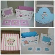 Resultado de imagen para imágenes de cajas con decoupage para bebes