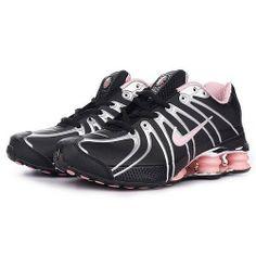 nike+shox+women | Nike Shox OZ Black Metallic Silver Pink Women Shoes [Nike Shox OZ ...