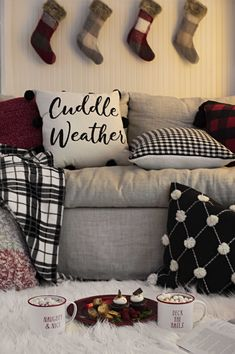 Cuddle weather is upon us, and we have all the cozy items you need for couch-snuggling this season!