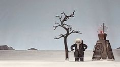 An Arctic inhabitant is fascinated by the sudden appearance of a mysterious box.   Kevin Parry - Director / Animator http://www.kevinbparry.com  Ihor Dawidiuk - Musical Score http://www.ihordawidiuk.com  Tim Burton's Reaction http://vimeo.com/17229245  Youtube link @ http://youtu.be/-PF8lJ00NGQ