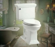 kohler k38170 memoirs stately twopiece elongated toilet