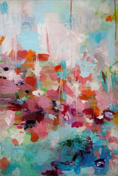 Sandy Dooley - Eddying, acrylic on canvas