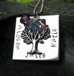 Hey, I found this really awesome Etsy listing at https://www.etsy.com/listing/72231705/mothers-day-hand-stamped-jewelry-family