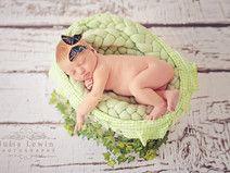 Weicher Woll-Zopf für Baby-Fotografie 300 Gramm