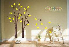 Wall Decal Tree Wall Decals Wall stickers Nursery by coocoodecal.