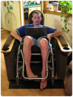 Wheelchair Accessible Recliner - Home