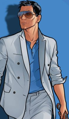 Archer Vice: Reinventing the Spy Archer Tv Show, Archer Fx, Series Movies, New Movies, Archer Cartoon, Sterling Archer, Danger Zone, Animated Icons, Character Aesthetic
