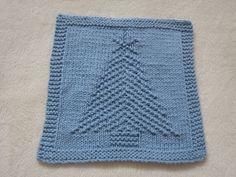 Ravelry: Christmas Tree II pattern by Louise Sarrazin #knitting