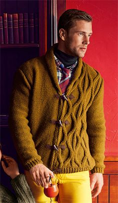 Bergere de France Jacket with Shawl Collar Pattern