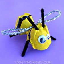 Resultado de imagem para abelhas em material reciclado