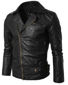 #MensJackets:Men leather jacket handmade men leather jacket