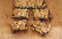 Rosemary and fig crumble bars. My favourite herb with figs and almonds- yum! But I'll use homemade fig purée.