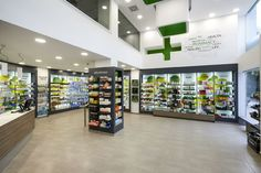 Vraka Maria and Associates Pharmacy by Lefteris Tsikandilakis, Chalkida – Greece » Retail Design Blog
