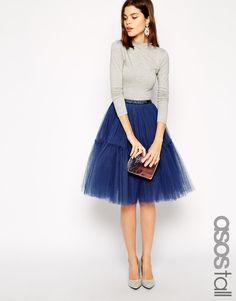 Enlarge ASOS TALL Mesh TuTu Skirt.