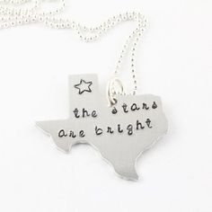 Texas Necklace ...the stars at night are big and bright ....