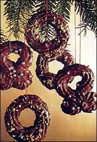 Čokoládové kroužky