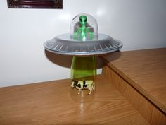 ufo party ideas | ... for kids, make your own Alien Abduction Lamp for school or home
