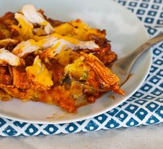 chicken tamale casserole. Easy, healthy and amazingly tasty