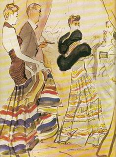 1936 Party Dresses by Sacheverelle, via Flickr