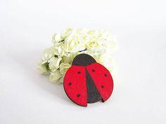 Ladybug party favors ladybug gift ladybug magnet ladybug