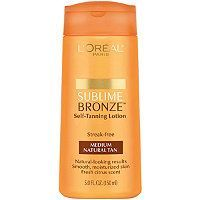 L'Oreal Sublime Bronze Self Tanning Lotion