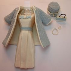 <0>So beautifully done!!! Handmade Vintage Barbie/Silkstone Doll Clothes by Roxy