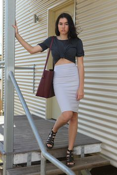 Jules Vegan Bucket Bag in Bordeaux from Ethical Gallery. Credit- Eco Warrior Princess