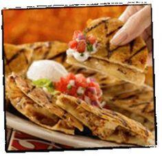 Chili's  Copycat Recipes: Chicken Bacon Ranch Quesadillas                                                                                                                                                                                 More