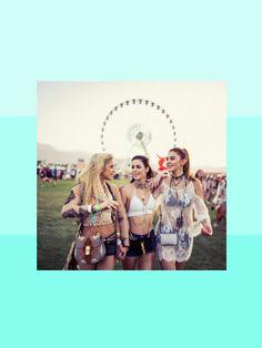 Lena Meyer-Landrut, Stefanie Giesinger oder Caro Daur - dieses Jahr sind unsere deutschen Fashion-Mädels stark auf dem Coachella Festival vertreten.