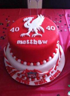 Liverpool Birthday Cake Ideas