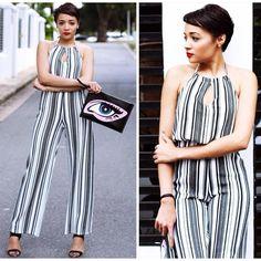 @brettrobson #chic #stripes #jumpsuit #ontrend #springtrends #sexy #urbanfashionista #styledaily #styletrends #bloggerstyle #bloggertrends #igfashionlovers #igfashiontrends #igfashionbloggers #igfashioncommunity #fashionfreaks #fashionpolice #fashionforward #skvfashion #s_k_v_fashion Spring Trends, Passion For Fashion, Fashion Forward, Jumpsuit, Stripes, Street Style, Urban, Chic, Jeans