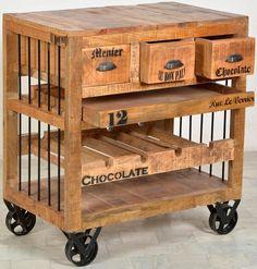 Küchenwagen Cookie | Küchenwagen, Servierwagen und Küche