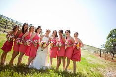 Sherbet Bridesmaids