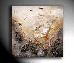 JEAN SANDERS -- 80x80cm - Strukturbild from Jean Sanders ART  / modern-artgallery by DaWanda.com