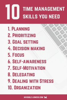 how to improve your time management skills Want to be more productive? Check out these 10 time management skills you need to become more productive!Want to be more productive? Check out these 10 time management skills you need to become more productive! Time Management Tools, Effective Time Management, Time Management Strategies, Time Management Printable, Time Management Quotes, Productivity Management, Time Management Techniques, Project Management, Increase Productivity