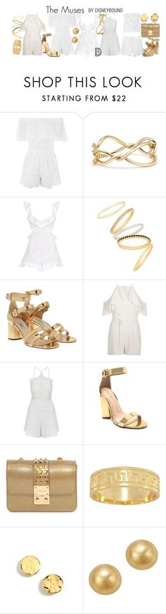 """""""The Muses"""" by leslieakay ❤ liked on Polyvore featuring Topshop, David Yurman, Zimmermann, Madewell, Prada, River Island, Qupid, Design Inverso, Kenneth Cole and Bloomingdale's"""