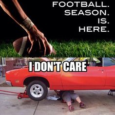 How Car Guys Feel About Football